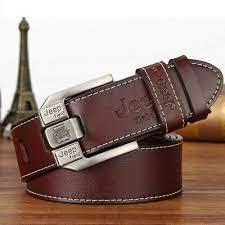 Fashion mens <b>casual genuine</b> leather belt <b>high quality</b> cow skin ...