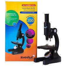 <b>Микроскоп Levenhuk 2S NG</b>, монокулярный Биологический ...