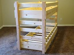 image of diy toddler bunk bed bunk beds toddlers diy