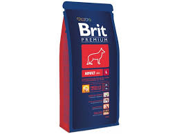 Полнорационный <b>сухой корм Brit</b> для взрослых собак крупных ...
