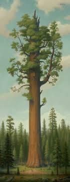 <b>Mark Ryden</b> Art Print <b>General Sherman</b> Redwood Tree Lithograph ...