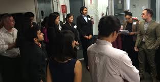 cooper union alumni association mock interview night  mock interview night group 2