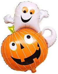 <b>Pumpkin</b> Ghost <b>Balloon</b> Bar <b>Party</b> Decorations Whimsy Cute ...