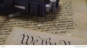 us constitution hand gun right to keep and bear arms stock us constitution hand gun right to keep and bear arms stock video footage