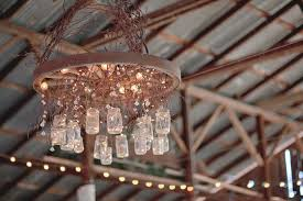 here is a beautiful vintage mason jar chandelier that would be perfect for a vintage chic affair diy vintage mason jar chandelier