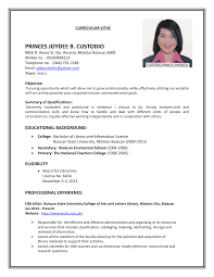 sample professional resume letter professional resume cover sample professional resume letter bsr resume sample library and more resume vitae cv template curriculum vitae