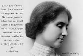 Finest 10 renowned quotes by helen keller picture French via Relatably.com