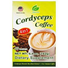 Растворимый кофе <b>4</b> in 1 Longreen Corporation <b>Cordyceps Coffee</b> ...