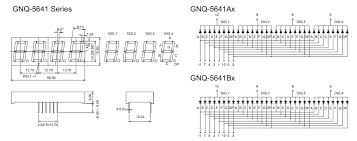 China <b>0.56</b>inch <b>4 Digit 7 Segment</b> Display (GNS-5641AxBx) - China ...
