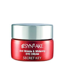 Eye cream secret key <b>Syn</b>-<b>ake anti wrinkle</b> & Whitening Eye Cream ...