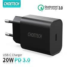 Big Offer #909fe2 - CHOETECH <b>Quick Charge</b> 3.0 <b>20W</b> USB-C ...