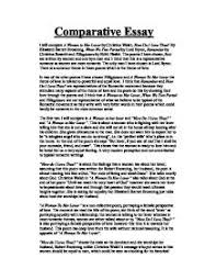 essay of love imgjpg comparative essay   comparing a women to her lover by christina