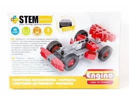 Конструктор <b>ENGINO</b> SH31 <b>STEM</b> HEROES. Набор Скоростные ...