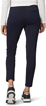 <b>Tom Tailor</b> Casual Women's Jersey Trouser, Blue (Night Sky Blue ...