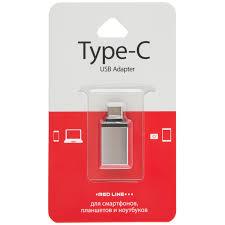 <b>Адаптер</b>-переходник <b>Red Line</b> OTG <b>Type</b>-<b>C</b> - USB 3.0