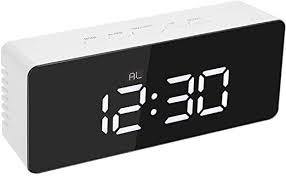 Alarm Clocks & Clock Radios <b>Creative LED Digital Alarm</b> Clock ...