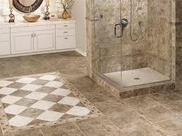 ceramic tile for bathroom floors: image of luxury shower floor tile options
