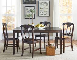 Five Piece Dining Room Sets Standard Furniture Larkin 5 Piece Dining Table Set With Open Oval