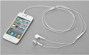 Image result for iphone 6 with earphones