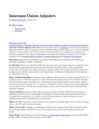 claims adjuster resumes samples cipanewsletter cover letter insurance adjuster resume sample auto insurance