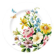 <b>Тарелка</b> Английский Сад 19см Флорал, Фарфор - купить по ...