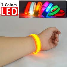 <b>Nylon</b> LED Flashing ArmBand <b>Wrist Strap</b> Armband Light For ...