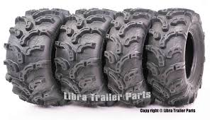 Set of 4 New Premium <b>WANDA</b> ATV/UTV Tires 27x9-<b>12</b> Front ...