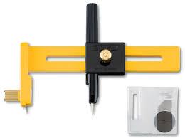 Нож <b>Olfa циркульный</b>, <b>диаметр</b> реза 10-150 мм, OL-CMP-1 ...