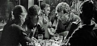 norman holland on woody allen s manhattan talk about art at elaine s