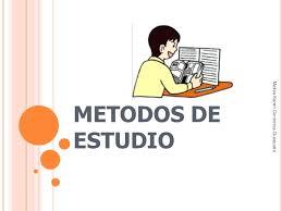 Resultado de imagen de metodos de estudio