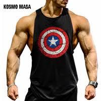 <b>KOSMO MASA Skull</b> Mens Tank Tops Shirt Bodybuilding Fitness ...