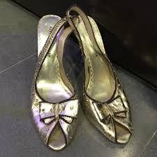 <b>Roberto Botella Shoes</b> | Gold Brown Heels | Poshmark