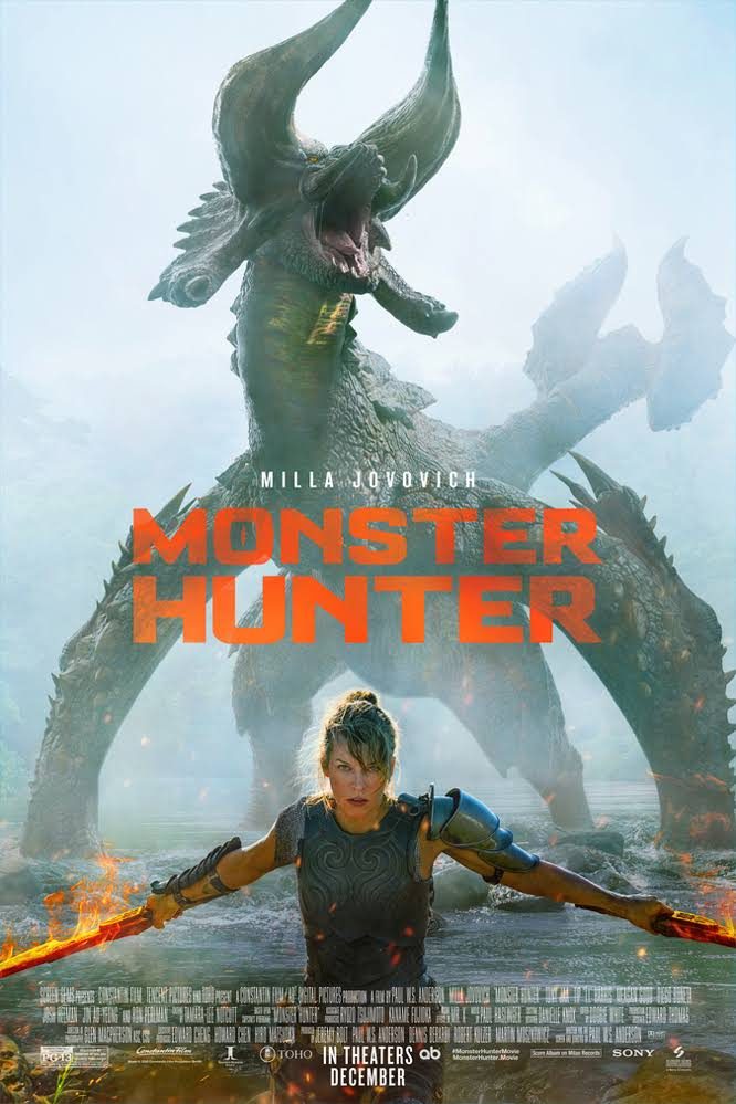 Download Monster Hunter (2020) Dual Audio {Hindi-English} Bluray 480p | 720p