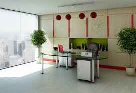 decoration dazzling idea of small office designs with visible glass table top with metal post amazing office design ideas work