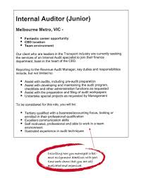 accounting area of study degrees to careers the university example job ad