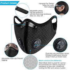 Dust <b>Mask Anti</b>-<b>Pollution Sports Mask</b> wit- Buy Online in Cambodia ...