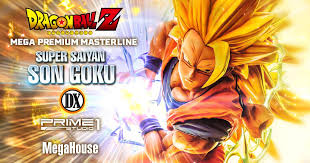 Mega Premium Masterline Dragon Ball Z <b>Super Saiyan</b> Son Goku ...