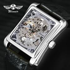 Online Shop <b>WINNER</b> Retro Ladies Mechanical <b>Watch Men</b> Women ...