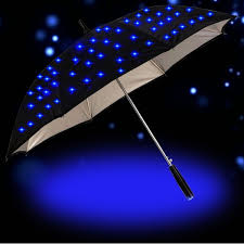 LED <b>Umbrella</b> Cool Creative Durabl LED Light Stars <b>Long Handle</b> ...