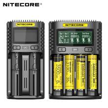 <b>100</b>% <b>Original Nitecore</b> UM4 UM2 USB QC Battery Charger ...