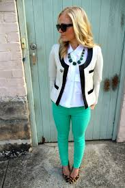 green jeans extreme chic mint green jeans outfits colors jeans chic combinations offices outfits colors denim bright pants chic mint teal office