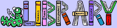 Image result for clip art kid school library