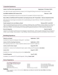 creative director choreographer stylist resume resume