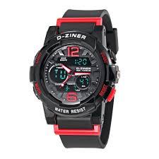 <b>Fashion</b> Brand D-ZINER <b>Children</b> Sports <b>Watches</b> LED Digital ...