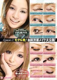 doll eyes makeup look