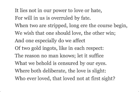 Whoever loved, that loved not at first sight | Christopher Marlowe ...
