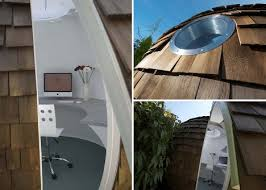 each backyard home office pod