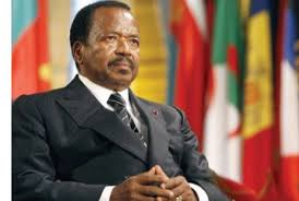 Image result for paul biya of cameroon pic