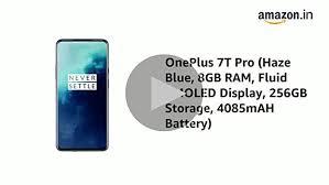 Oneplus 7T PRO <b>Haze</b> Blue (8GB RAM+256GB Storage): Amazon ...