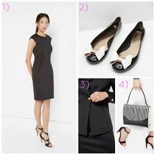 interview outfits island living  1 neoprene ott dress pound149 2 large bow jelly pumps pound50 3 neoprene suit jacket pound159 4 eyeliner striped leather cross bag pound229